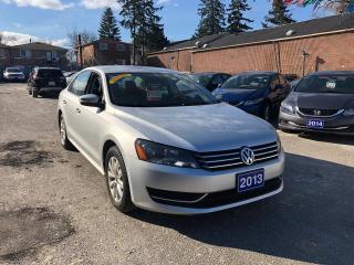Used 2013 Volkswagen Passat Trendline for sale in Toronto, ON