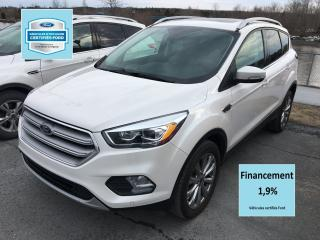 Used 2018 Ford Escape Titanium Awd Cert. for sale in St-Georges, QC