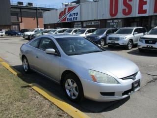 Used 2004 Honda Accord EX-L~LEATHER~SUNROOF~MANUAL~DRIVES GOOD for sale in Toronto, ON