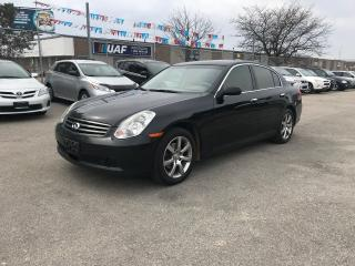 Used 2005 Infiniti G35X AUTO,AWD,4DOORS,139K,SAFETY+3YEARS WARRANTY INCLUD for sale in Toronto, ON
