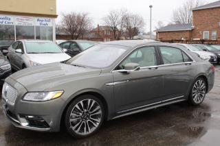 Used 2017 Lincoln Continental Reserve for sale in Brampton, ON