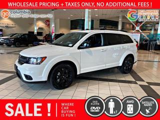 Used 2019 Dodge Journey AWD - Blacktop Edition for sale in Richmond, BC