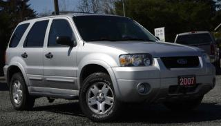 Used 2007 Ford Escape for sale in Black Creek, BC