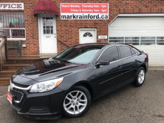 Used 2015 Chevrolet Malibu LT Sunroof Bluetooth Back Up Camera Touchscreen for sale in Bowmanville, ON