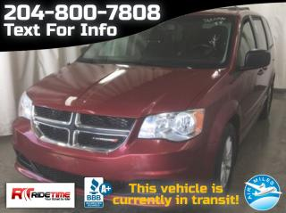 Used 2014 Dodge Grand Caravan SXT PLUS for sale in Winnipeg, MB