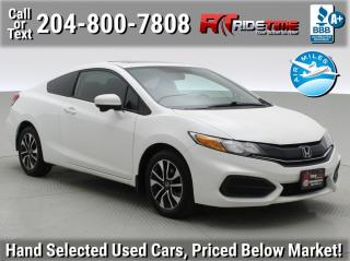 Used 2015 Honda Civic COUPE EX for sale in Winnipeg, MB