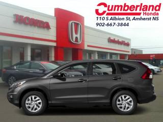 Used 2016 Honda CR-V EX  - Power Moonroof -  Bluetooth for sale in Amherst, NS