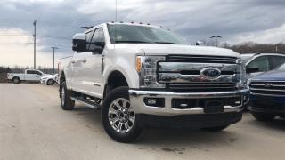 Used 2017 Ford F-250 Super Duty SRW LARIAT 6.7 V8 DIESEL LEATHER HEATED SEATS for sale in Midland, ON