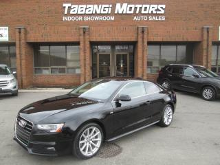 Used 2015 Audi A5 PROGRESSIVE | NAVIGATION | REAR CAM | SUNROOF | LEATHER | BT for sale in Mississauga, ON