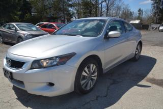 Used 2009 Honda Accord 2dr, Auto EX-L, leather, sunroof, one owner for sale in Halton Hills, ON