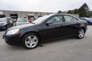 Used 2009 Pontiac G6 2.4L Sedan *23 Dealer Service Record* Sunroof Certified 2Yr Warranty *Accident Free* for sale in Milton, ON