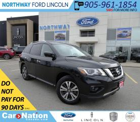 Used 2017 Nissan Pathfinder SL | AWD | PWR LEATHER | HTD 1ST/2ND ROW | 3 ROW | for sale in Brantford, ON