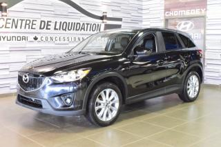 Used 2014 Mazda CX-5 Gt+awd+gps+toit+cuir for sale in Laval, QC