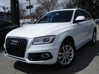 Used 2015 Audi Q5 2.0T~PROGRESSIV~NAVIGATION~PANO ROOF~80KMS for sale in Burlington, ON