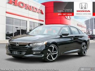 New 2019 Honda Accord Sport 2.0T SPORT 2.0T for sale in Cambridge, ON