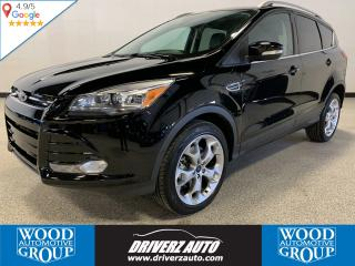 Used 2016 Ford Escape Titanium ONE OWNER, CLEAN CARFAX, BLIND SPOTS AND LOTS MORE.. for sale in Calgary, AB