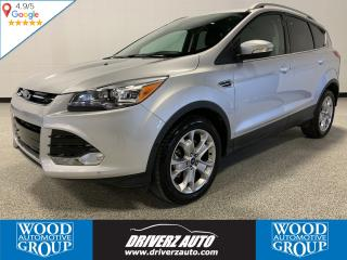 Used 2015 Ford Escape Titanium ONE OWNER, CLEAN CARFAX, BLIND SPOTS AND LOTS MORE ,,, for sale in Calgary, AB