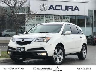Used 2010 Acura MDX Tech 6sp at SH-AWD, Navi, DVD, Pwr Liftgate for sale in Markham, ON