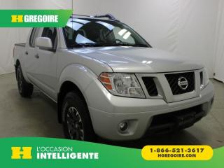 Used 2018 Nissan Frontier PRO-4X CREW-CAB 4X4 for sale in St-Léonard, QC