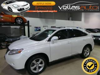 Used 2011 Lexus RX 350 AWD| NAVIGATION| R/CAMERA| PEARL WHITE for sale in Vaughan, ON