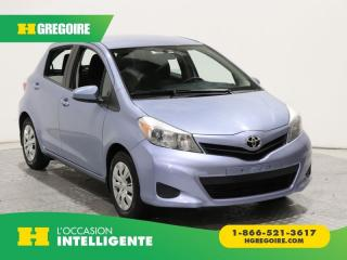 Used 2014 Toyota Yaris LE BLUETOOTH for sale in St-Léonard, QC