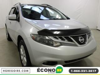 Used 2012 Nissan Murano SL AWD CUIR TOIT for sale in St-Léonard, QC