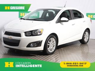Used 2013 Chevrolet Sonic LT A/C GR ELECT for sale in St-Léonard, QC