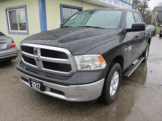Used 2017 Dodge Ram 1500 WORK READY SLT MODEL 6 PASSENGER 5.7L - HEMI.. 4X4.. CREW.. SHORTY.. AUX/USB INPUT.. BLUETOOTH.. TOW SUPPORT.. for sale in Bradford, ON