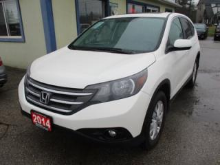 Used 2014 Honda CR-V ALL-WHEEL DRIVE EX MODEL 5 PASSENGER 2.4L - DOHC.. ECON-PACKAGE.. HEATED SEATS.. CD/AUX/USB INPUT.. BLUETOOTH.. BACK-UP CAMERA.. for sale in Bradford, ON
