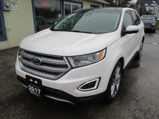 Used 2017 Ford Edge ALL-WHEEL DRIVE TITANIUM MODEL 5 PASSENGER 3.5L - V6.. LEATHER.. HEATED/AC SEATS.. NAVIGATION.. SUNROOF.. BACK-UP CAMERA.. SYNC TECHNOLOGY.. for sale in Bradford, ON