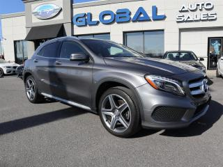 Used 2016 Mercedes-Benz GLA 250 AMG PKG. PREMIUM PKG. 4MATIC LEATHER for sale in Ottawa, ON