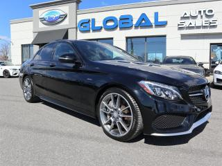 Used 2016 Mercedes-Benz C450 AMG 4MATIC LEATHER NAVI. 360 HP.ONLY 19 K for sale in Ottawa, ON