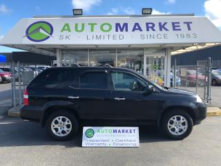 Used 2001 Acura MDX WARRANTY! FREE BCAA! INSPECTED! FINANCE IT! for sale in Langley, BC