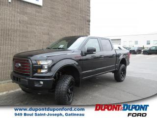 Used 2016 Ford F-150 Cab SuperCrew 4RM 145 po Lariat SPECIAL for sale in Gatineau, QC