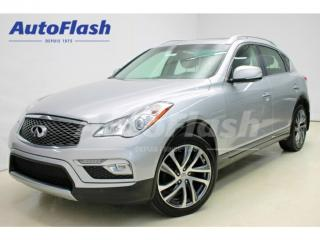 Used 2016 Infiniti QX50 Journey Camera-360 for sale in St-Hubert, QC