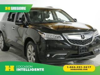 Used 2016 Acura MDX ELITE SH AWD NAV DVD for sale in St-Léonard, QC