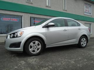 Used 2013 Chevrolet Sonic for sale in St-Jérôme, QC