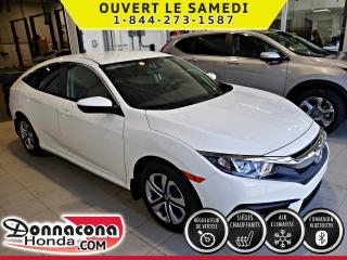 Used 2017 Honda Civic LX ***BALANCE DE GARANTIE***APPLE CARPLA for sale in Donnacona, QC