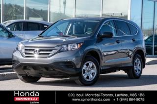 Used 2014 Honda CR-V LX AWD for sale in Lachine, QC