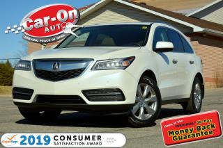 Used 2014 Acura MDX Elite Package AWD 7 SEAT EVERY POSSIBLE OPTION for sale in Ottawa, ON