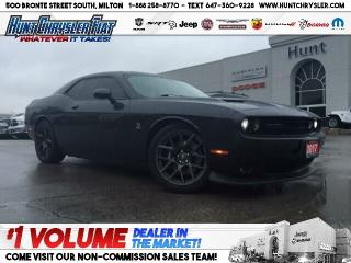 Used 2017 Dodge Challenger R/T 329 | SCAT PACK | WINTER TIRES | 6.4L | BLACKO for sale in Milton, ON