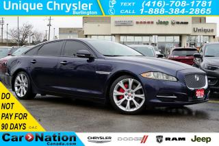 Used 2014 Jaguar XJ XJL| 3.0L| PORTFOLIO| AWD| MERIDIAN| NAV & MORE for sale in Burlington, ON