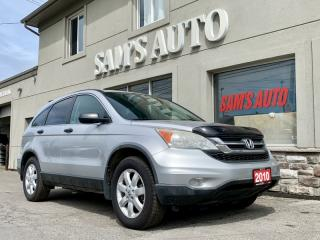 Used 2010 Honda CR-V 4WD 5DR LX for sale in Hamilton, ON