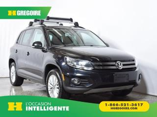 Used 2016 Volkswagen Tiguan ÉDITION SP for sale in St-Léonard, QC
