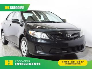 Used 2011 Toyota Corolla CE A/C for sale in St-Léonard, QC