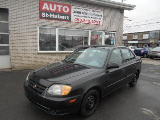 Used 2005 Hyundai Accent for sale in St-Hubert, QC