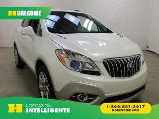 Used 2014 Buick Encore Premium AWD for sale in St-Léonard, QC