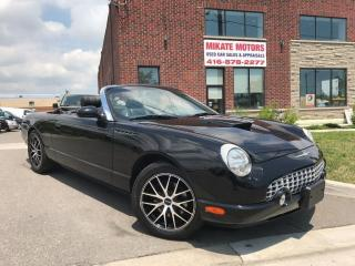 Used 2002 Ford Thunderbird ROADSTER for sale in Rexdale, ON