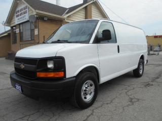 Used 2012 Chevrolet Express CARGO 2500HD 4.8L V8 Divider Shelving Certified for sale in Rexdale, ON