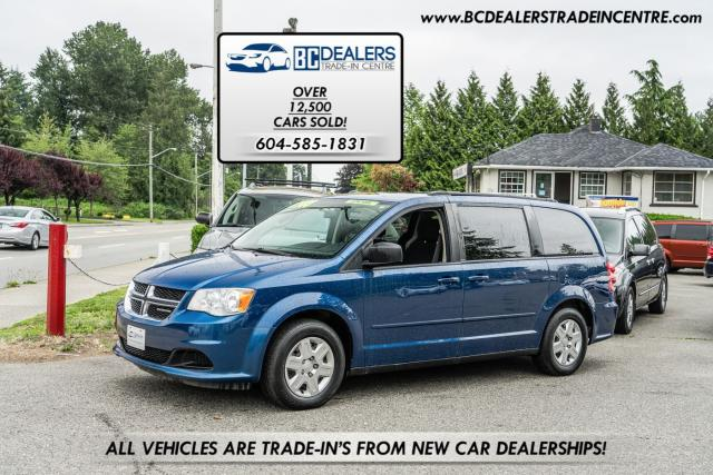 2011 Dodge Grand Caravan SE Stow 'n Go, New Tires, Low 128k, DVD, Clean!